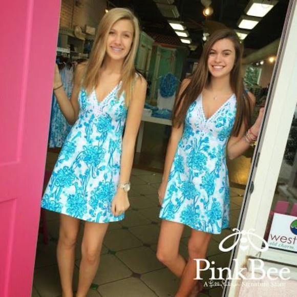 133c5fcdb6ad3d Lilly Pulitzer Dresses | New Lily Pulitzer Brynn Fit Flare Dress ...
